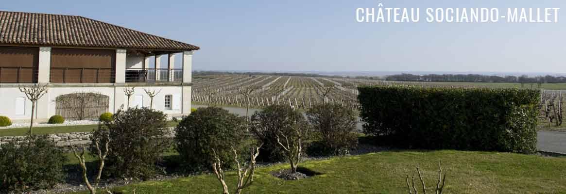 Château Sociando-Mallet, grands vins du Haut-Médoc