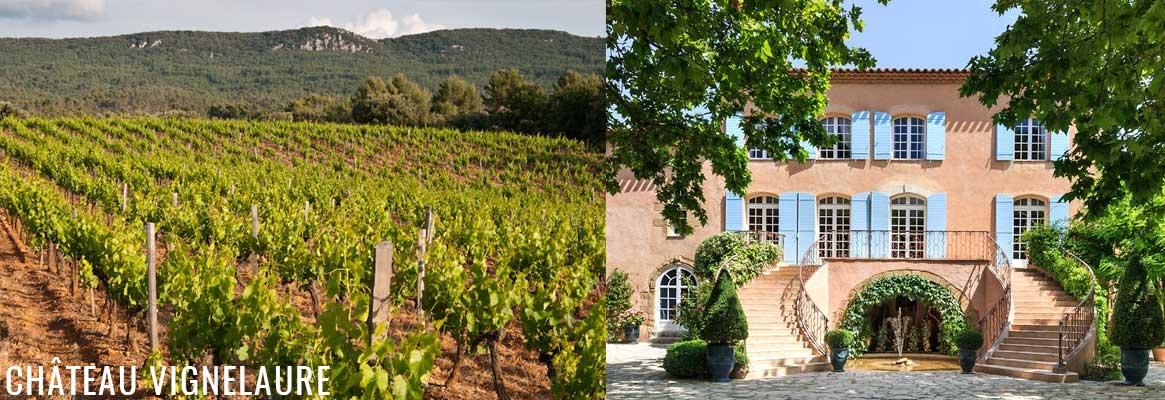 Château Vignelaure, grands vins rosés, rouges et blancs de Provence