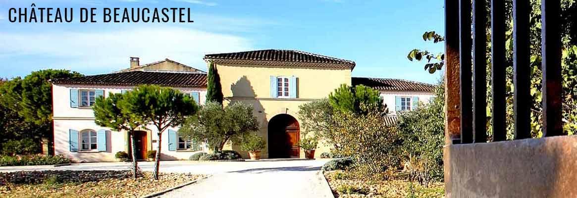 Château de Beaucastel, grands vins de Châteauneuf-du-Pape