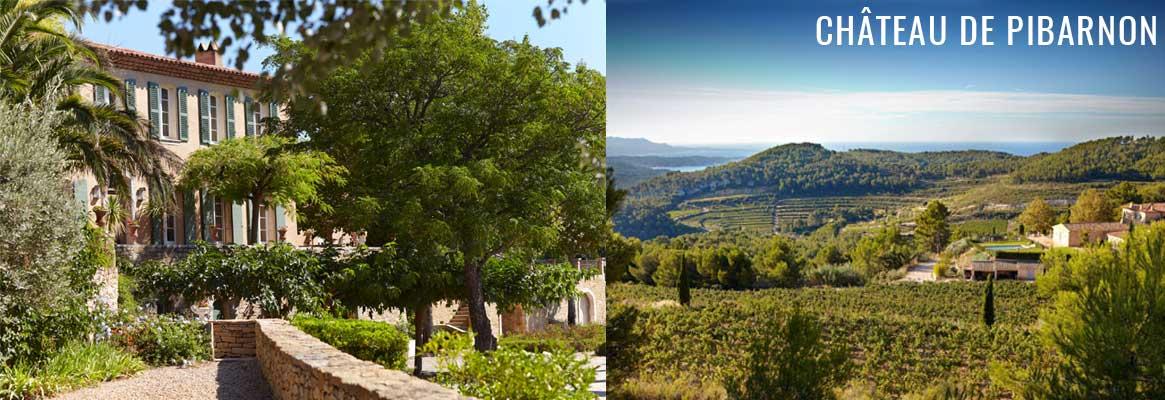 Château de Pibarnon, grands vins de Bandol
