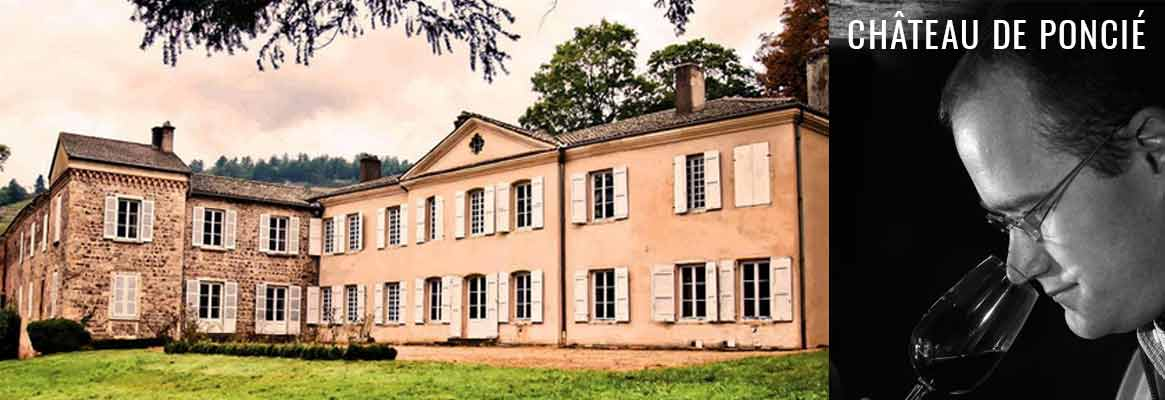 Château de Poncié, vins du Beaujolais, Fleurie