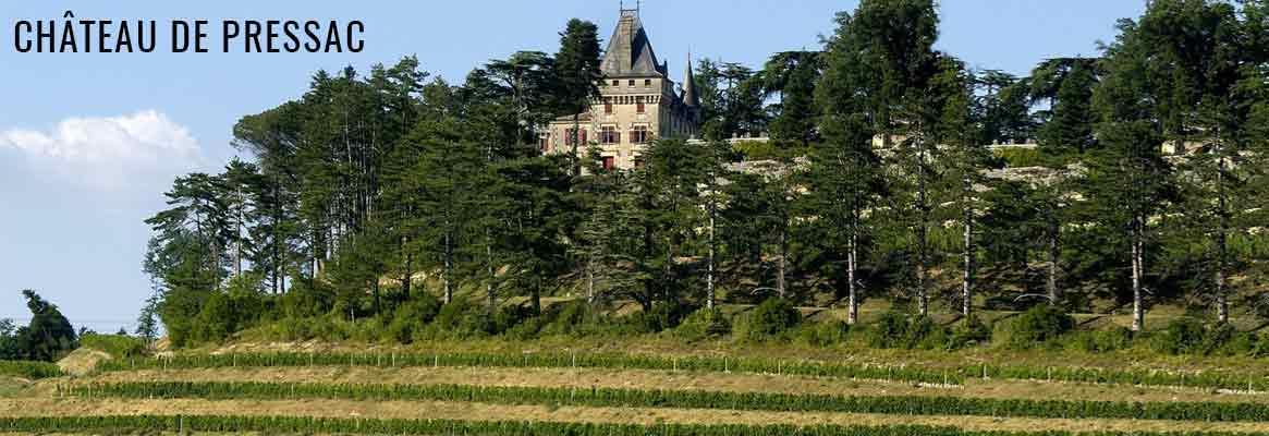 Château de Pressac Saint-Emilion Grand Cru Classé