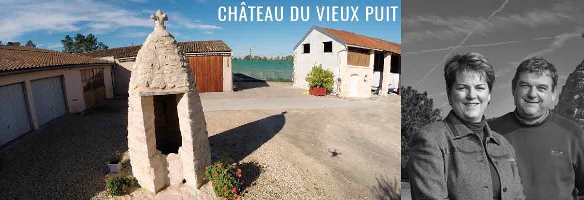 Château du Vieux Puit, vins de Blaye Côtes de Bordeaux