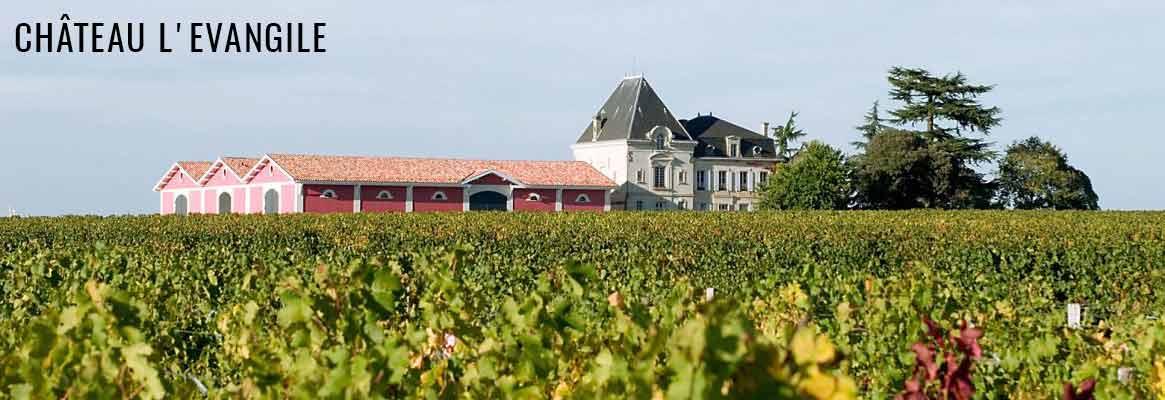 Château L'Evangile, grands vins de Pomerol