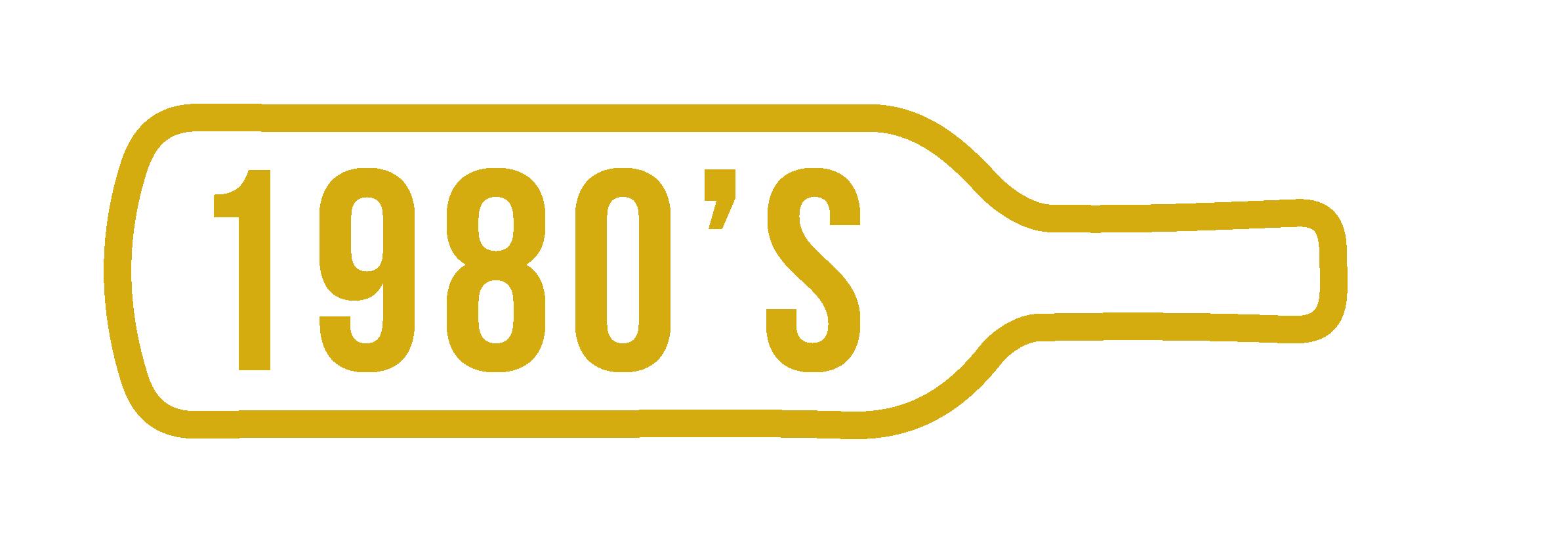 Créez vous-même votre coffret vin anniversaire millésime 1980 à 1989
