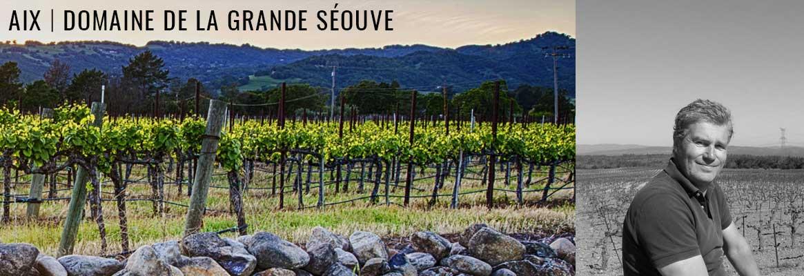 Aix, grands vins rosés de Provence du Domaine de la Grande Séouve