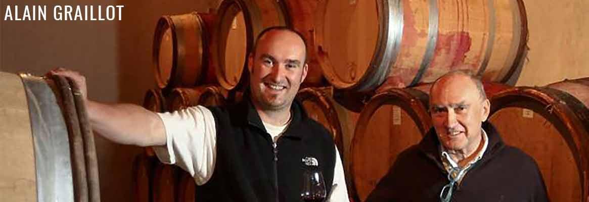 Alain Graillot, vins du Rhône, Crozes-Hermitage et du Maroc