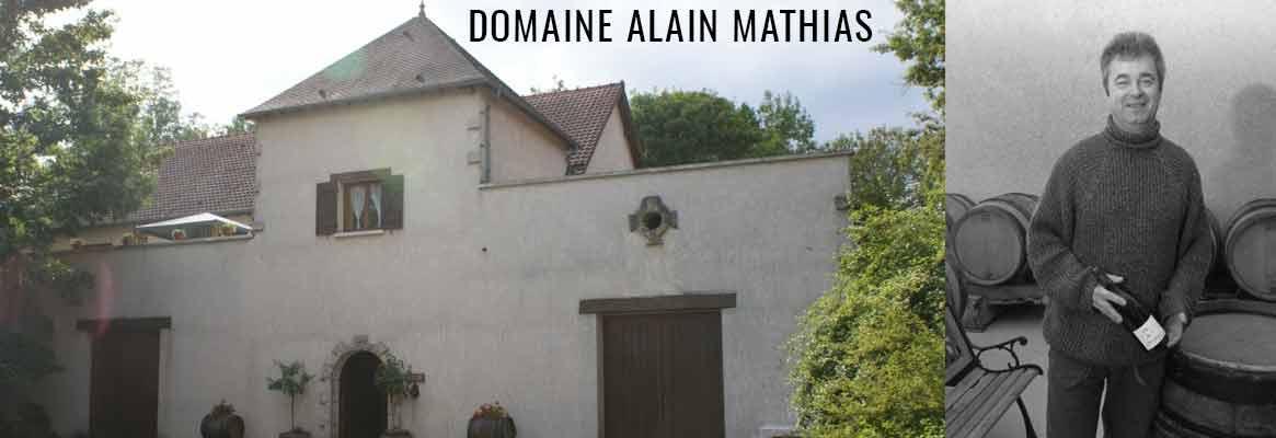 Domaine Alain Mathias, vins de Bourgogne Epineuil, Bourgogne Tonnerre et Chablis