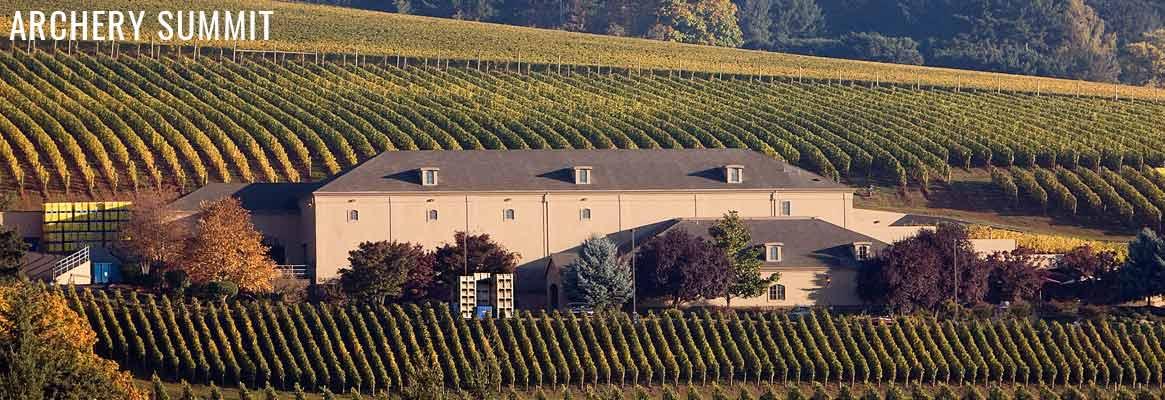 Archery Summit, grands vins américains de l'Oregon issus du Pinot noir
