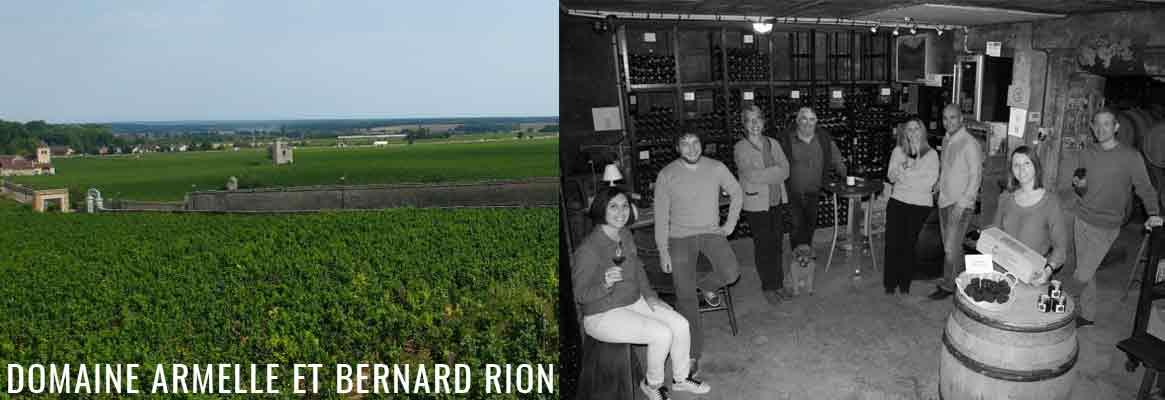 Domaine Armelle et Bernard Rion, grands vins de la Côte-de-Nuits