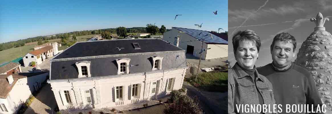 Vignobles Bouillac, Blaye Côtes de Bordeaux et Bordeaux Supérieur