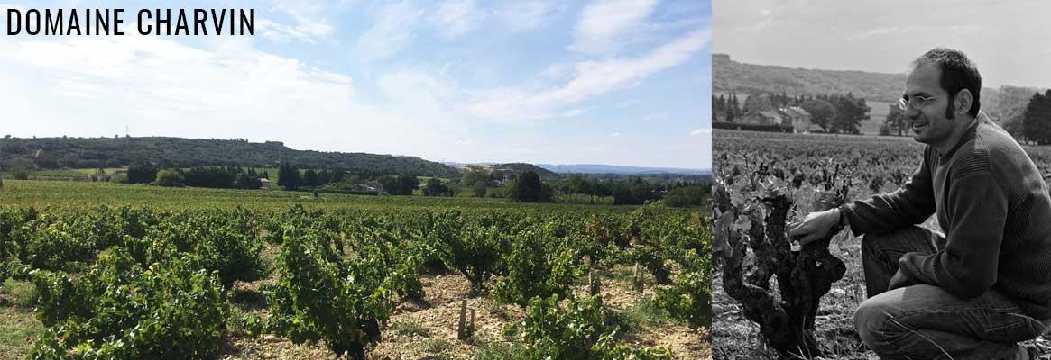 Domaine Charvin, grands vins de Châteauneuf-du-Pape en agriculture biologique