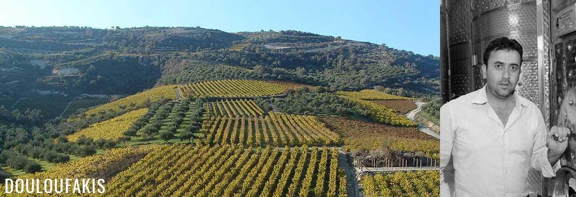 Domaine Douloufakis, grands vins de Crète issus de cépages indigènes