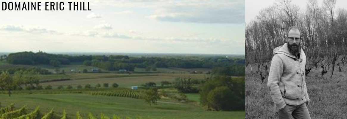 Domaine Eric Thill, vins de Jura BIO, Trousseau, Poulsard et Savagnin
