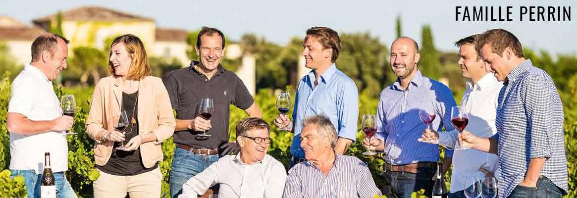 Famille Perrin, grands vins du Rhône méridional