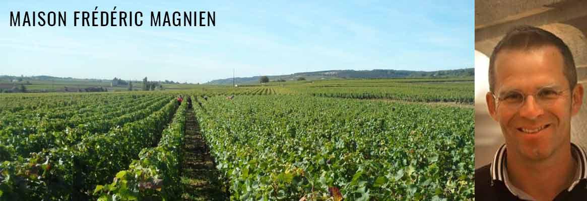 Frédéric Magnien, grands vins de Bourgogne Côte de Nuits