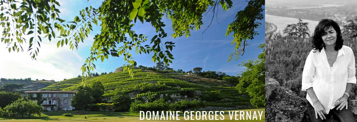 Domaine Georges Vernay, grands vins de la vallée du Rhône en AOP Condrieu et Côte-Rôtie