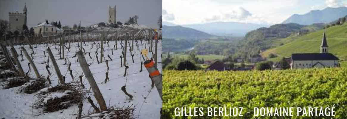 Domaine Gilles Berlioz, grands vins de Savoie, Mondeuse et Jacquère