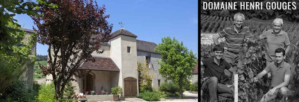Domaine Henri Gouges, grands vins de Nuits-Saint-Georges