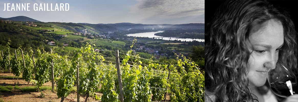 Jeanne Gaillard, vigneronne de la vallée du Rhône septentrionale