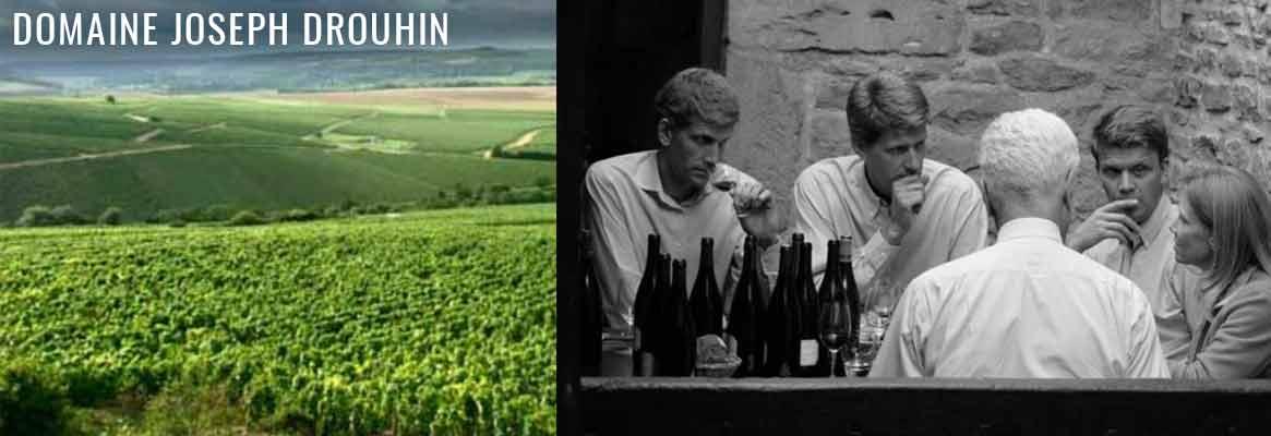 Grands vins de Chablis et de Bourgogne du Domaine Joseph Drouhin