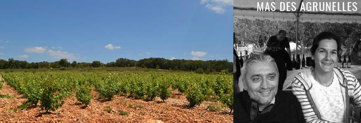 Mas des Agrunelles, vins naturels du Languedoc