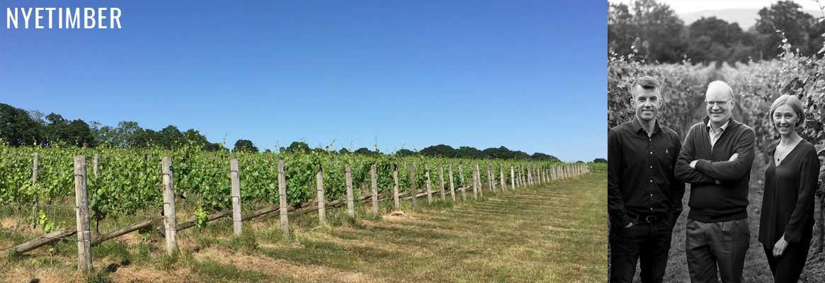 Nyetimber, grands vins effervescents du sud de l'Angleterre