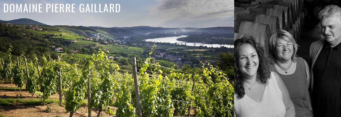 Domaine Pierre Gaillard , grands vins de la Vallée du Rhône