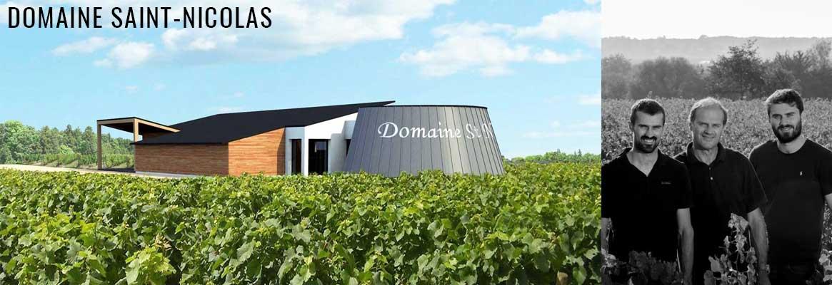 Domaine Saint-Nicolas, vins rouges et blancs en biodynamie de Thierry Michon, Fiefs Vendéens