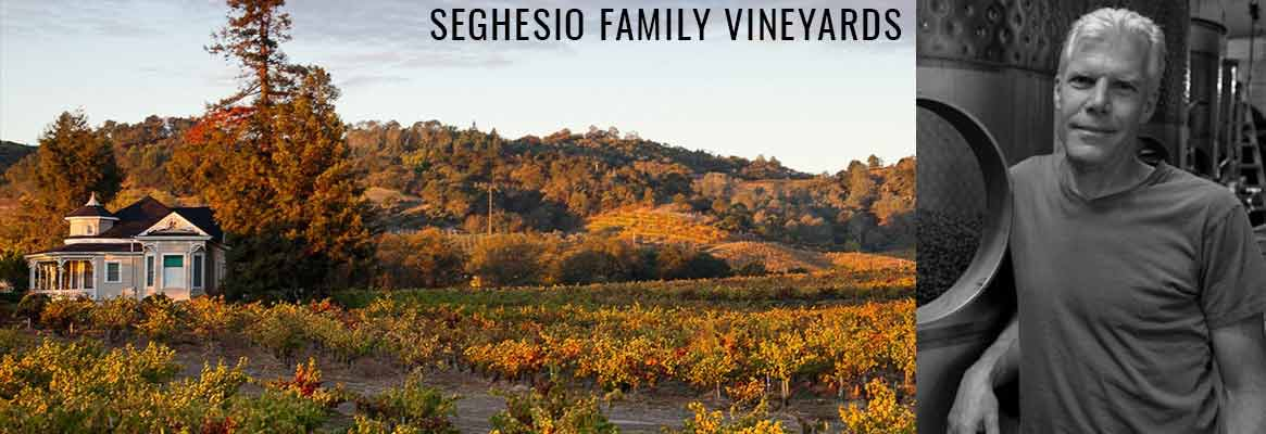 Seghesio Family Vineyards, grands vins Zinfandel dans le comté de Sonoma en Californie