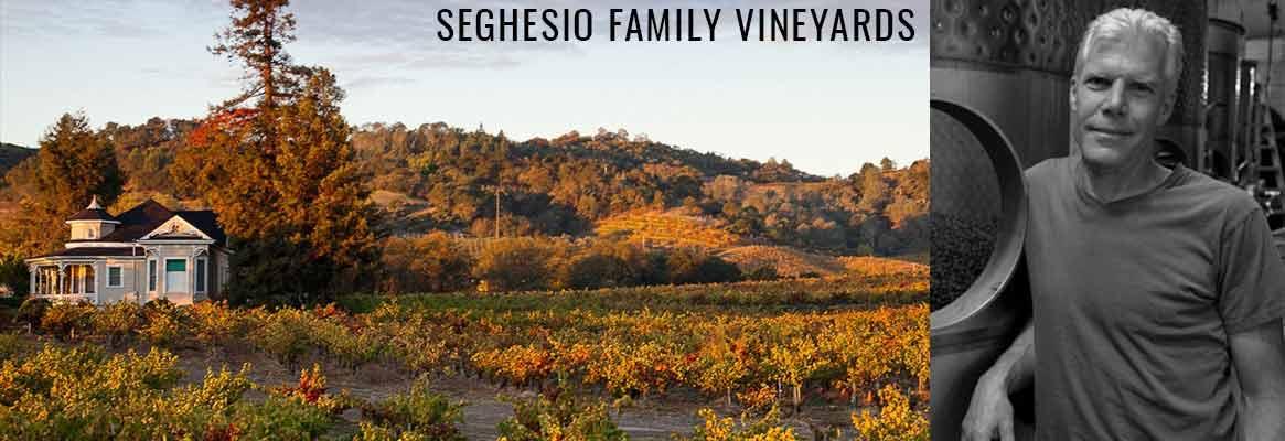 Seghesio Family Vineyards, grands vins Zinfandel dans le comté de Sonoma en Californie