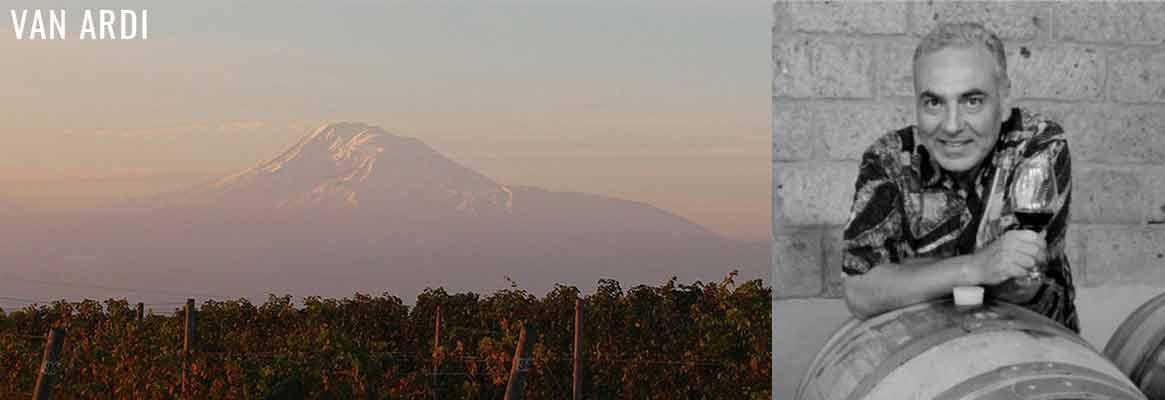 Van Ardi, grands vins d'Arménie, Areni noir et vins de karasi