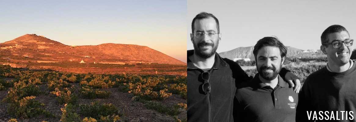 Domaine Vassaltis, vins grecs de l'île de Santorin dans les Cyclades