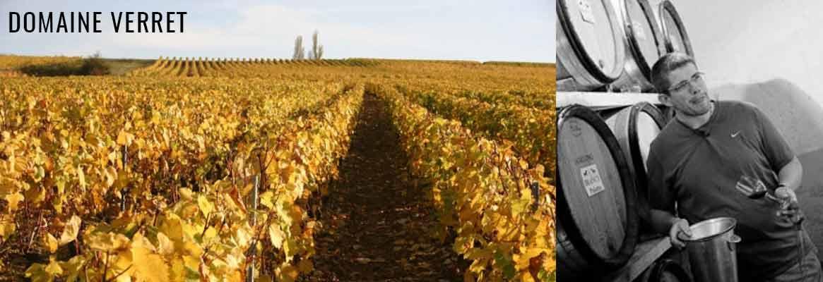 Domaine Verret, grands vins de Bourgogne, Chablis, Irancy, Côtes d'Auxerre, Crémant de Bourgogne