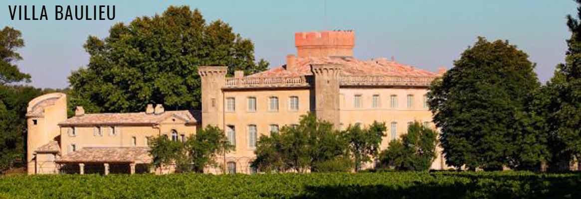 Villa Baulieu, grands vins rouges et blancs de Provence