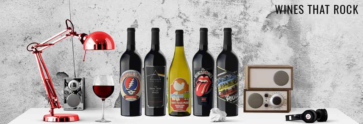 Wines that Rock, vin californien et Rock des années 70