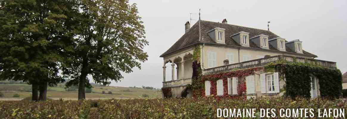 Domaine des Comtes lafon, grands vins de Meursault, Chassagne-Montrachet, Vonay et Monthélie