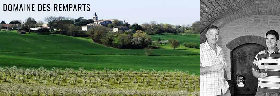 Domaine des Remparts, vins de Bourgogne Grand Auxerrois, Saint-Bris