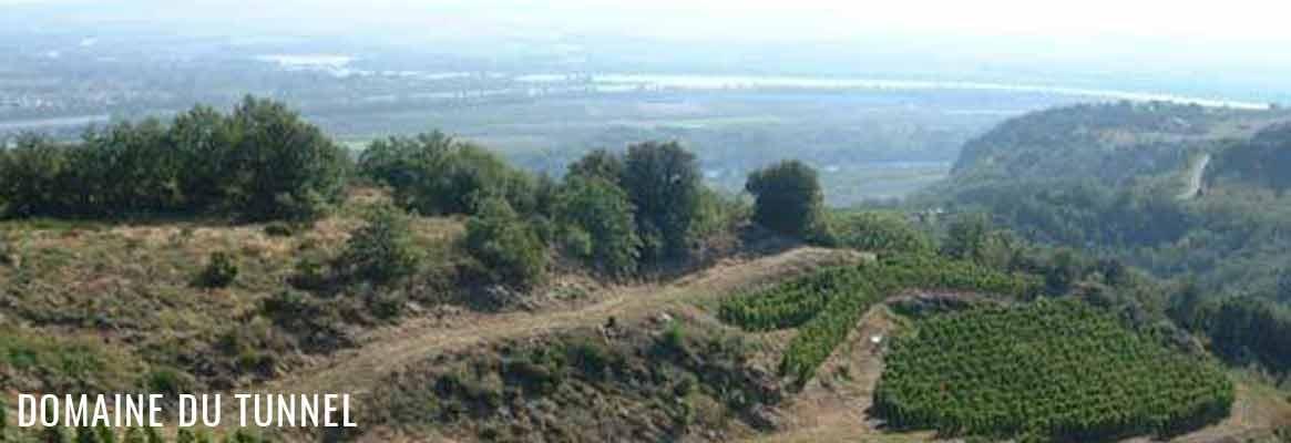 Domaine du Tunnel, vins de Saint-Joseph, Saint-Peray et Cornas