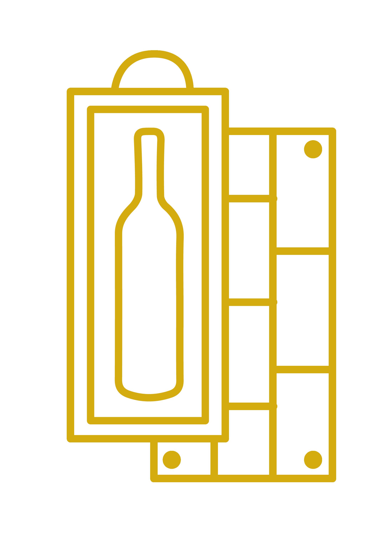 Les coffrets bois et caisses bois 1 bouteille