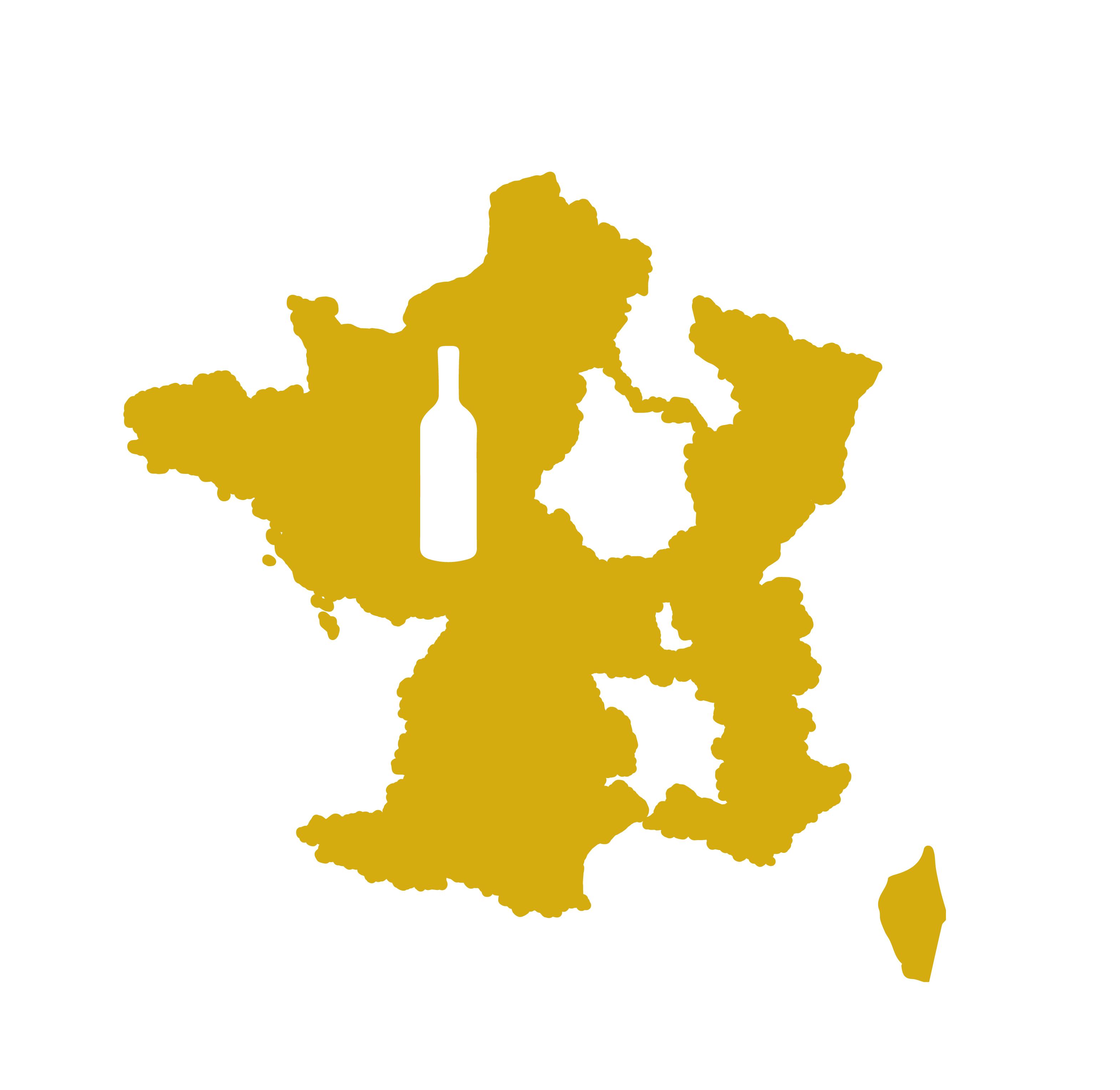 Coffret vin des autres régions de France