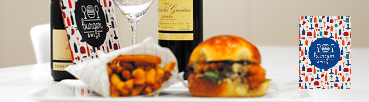 Coffret vin et burger
