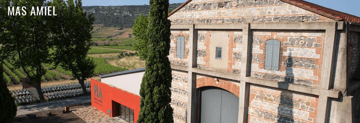 Mas Amiel, vins du Roussillon, Maury et Côtes du Roussillon