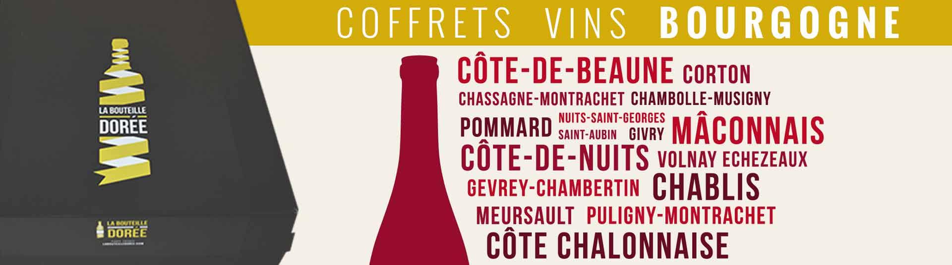 Box cadeau vins de Bourgogne