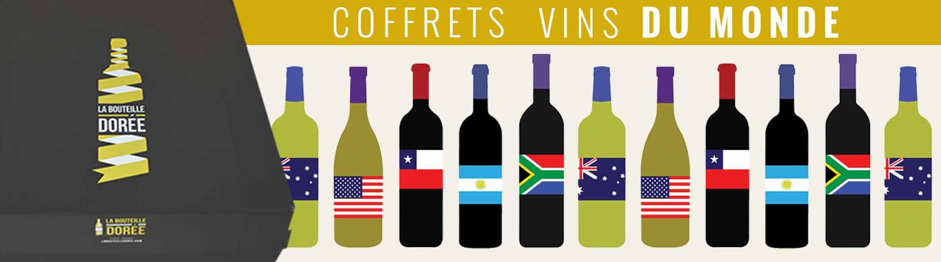 Coffret vins du monde