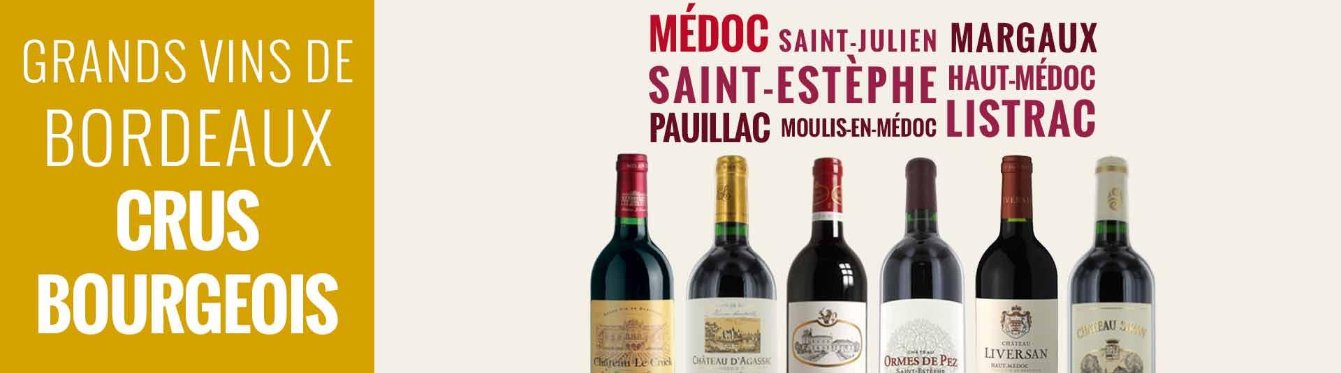 Bordeaux crus bourgeois du Médoc