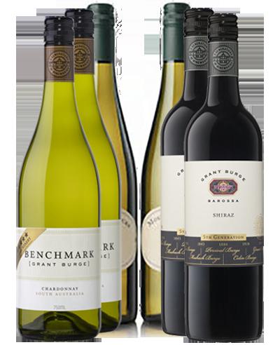 Carton vin Australie Découverte 6 bouteilles
