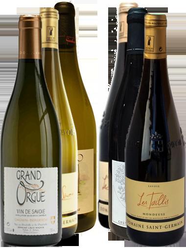 carton découverte 6 bouteilles vin Savoie