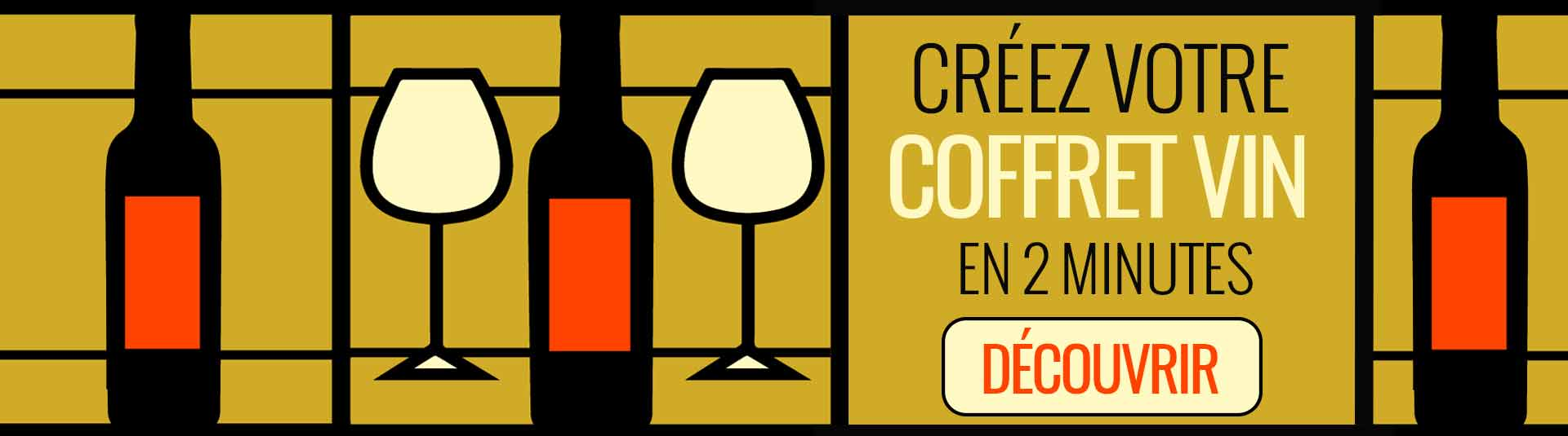 Créez vous-même votre coffret vin