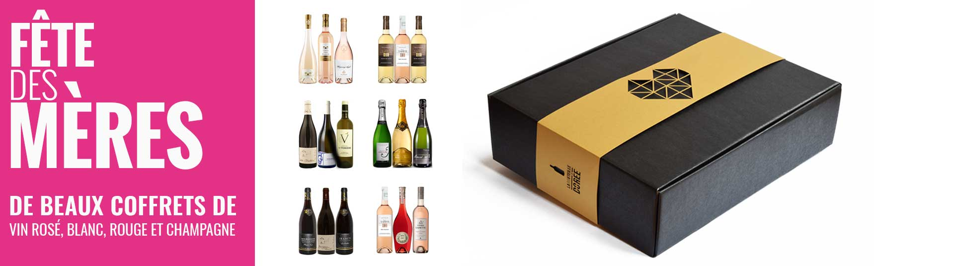 Cadeaux vins Fête des Mères